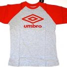 Umbro Sports Short Sleeve Soccer T Shirt Red Youth Sizes L & XL