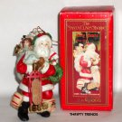 Vintage 1988 Enesco Santa Ornament - New Old Stock