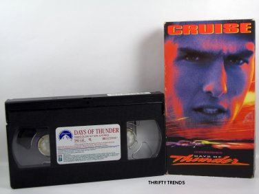 DAYS of THUNDER with Tom Cruise & Nicole Kidman (VHS) VGG