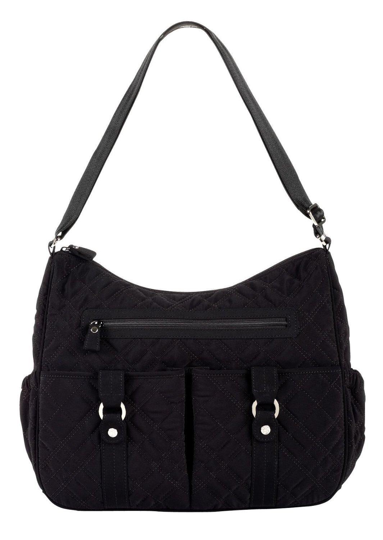 vera bradley handbags vera bradley baby bag in black microfiber. Black Bedroom Furniture Sets. Home Design Ideas
