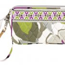 Vera Bradley Wristlet Portobello Road • new gusseted style  NWT Retired