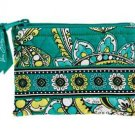 Vera Bradley Coin Purse in Peacock ID card case  NWT Retired