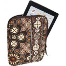 Vera Bradley Tablet Sleeve Canyon NWT brown reader iPad case cover packing cube