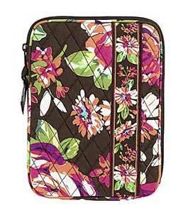 Vera Bradley Tablet Sleeve English Rose NWT retired � iPad case packing cube