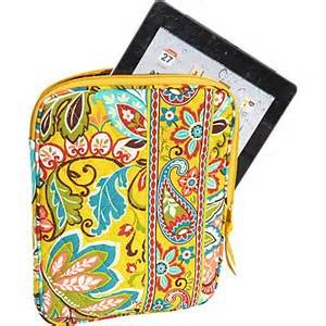 Vera Bradley Tablet Sleeve in Provencal  Retired NWT � iPad case packing cube