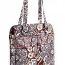 Vera Bradley Perfect Pocket Tote Slate Blooms  laptop, baby diaper, carryon, overnight