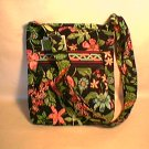 Vera Bradley Hipster Botanica  crossbody shoulder bag Retired NWT