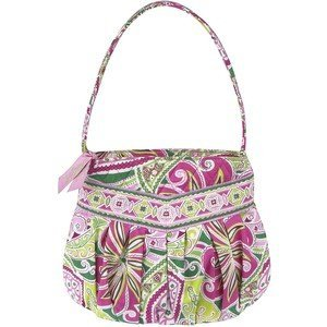 Vera Bradley Hannah Pinwheel Pink small handbag purse NWT Retired girls first purse afternoon party