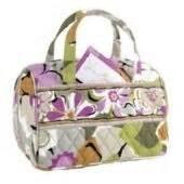 Vera Bradley Lunch Date Portobello Road insulated travel cosmetic bottle bag � NWT Retired
