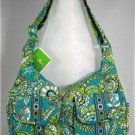 Vera Bradley Cargo Sling crossbody hobo shoulder bag in Peacock  Retired NWT