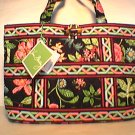 Vera Bradley Small Tic Tac Tote handbag Botanica NWT Retired /nice for e-reader, tablet