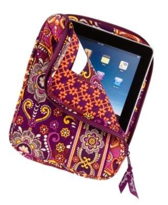 Vera Bradley Tablet Sleeve Safari Sunset NWT iPad case cover
