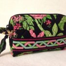 Vera Bradley Small Cosmetic Botanica   NWT Retired makeup tech travel case