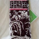 Vera Bradley Curling Iron flatbrush Cover Imperial Toile  NWT Retired straighten up curl