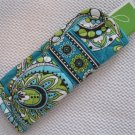 Vera Bradley Readers Case Peacock  NWT Retired  slim eyeglass holder