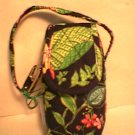 Vera Bradley Cell Phone Case Botanica   tech makeup PDA case  NWT Retired