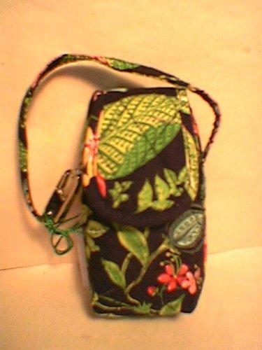 Vera Bradley Cell Phone Case Botanica   tech makeup PDA case  NWT Retired