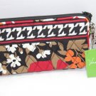 Vera Bradley Bittersweet Wristlet new gusseted style tech case  NWT Retired