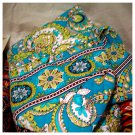 Vera Bradley Small Duffel Peacock NWT Retired satchel gym bag