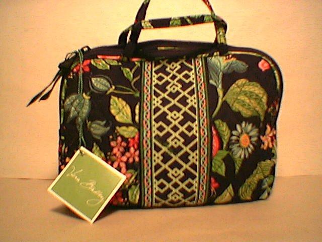 Vera Bradley Purse Cosmetic Botanica  NWT Retired travel cosmetic tech case small purse