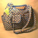 Vera Bradley Cargo Sling  crossbody hobo shoulder bag Riviera Blue NWT Retired