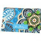 Vera Bradley Card Holder Bali Blue  NWT Retired  ID business calling card case