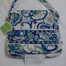 Vera Bradley Mailbag Mediterranean White cross body hipster tablet holder NWT Retired tablet hipster