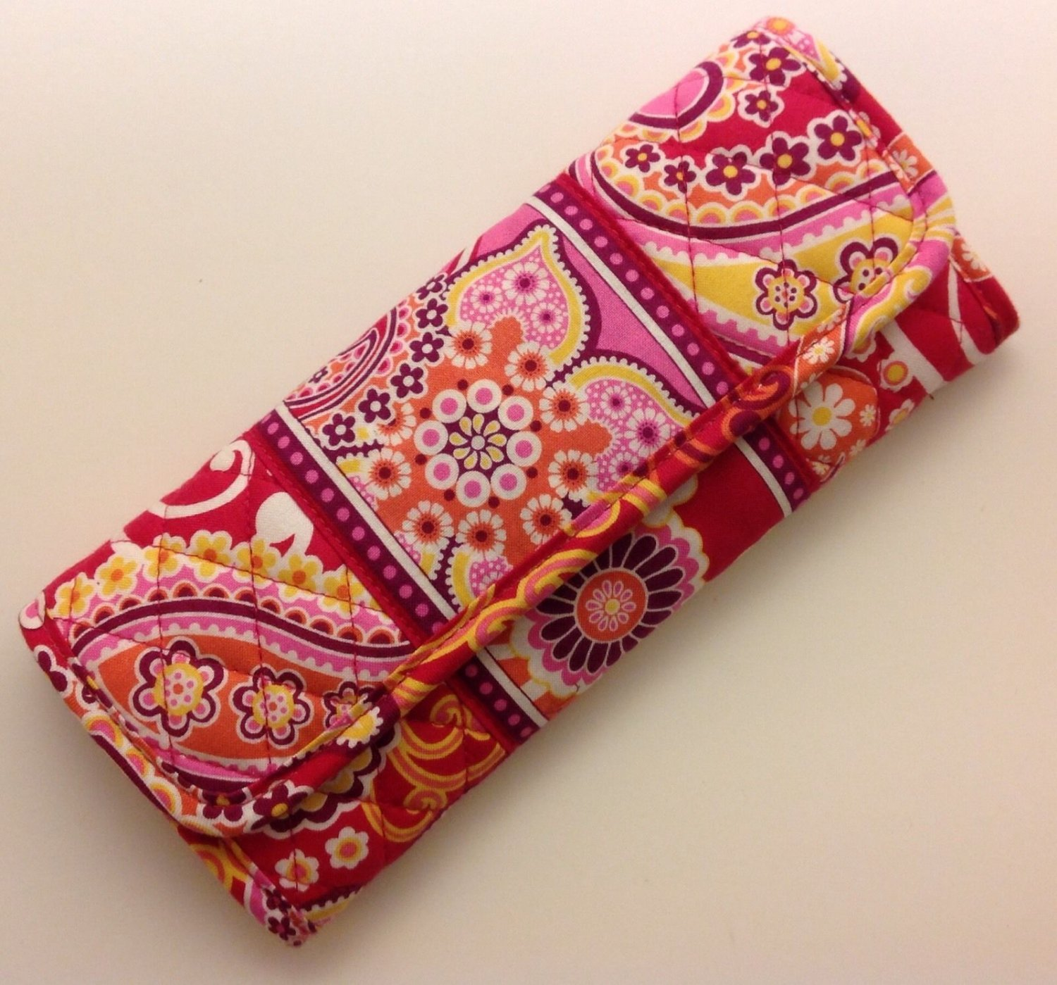 Vera Bradley Sleek Wallet Rasberry Fizz travel organizer convertible crossbody clutch NWT Retired