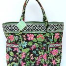 Vera Bradley Super Tote Botanica weekender overnighter carryon NWT Retired RARE