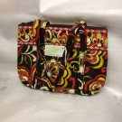 Vera Bradley Little Betsy handbag Puccini NWT Retired purse tablet tech tote