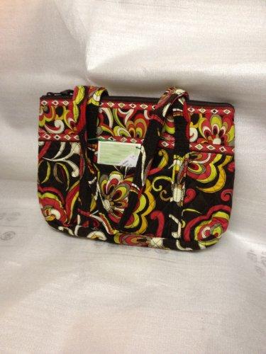 Vera Bradley Little Betsy handbag Puccini NWT Retired purse tablet tech tote