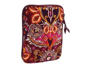 Vera Bradley E Reader Sleeve Safari Sunset mini tablet nook kindle case * NWT Retired
