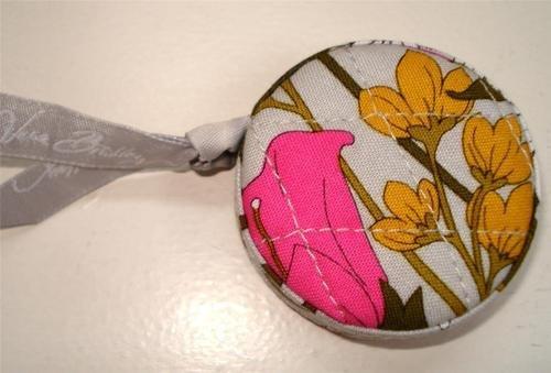 Vera Bradley Tape Measure Tea Garden retractable    limited edition promo  New