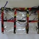 Vera Bradley Transparent Travel Pouch Puccini TSA 3-1-1 toiletry bag NWT retired