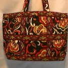 Vera Bradley Large Tic Tac Tote Puccini NWT Retired Super shopper overnighter