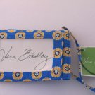 Vera Bradley Luggage Tag Riviera Blue business credit card holder Retired