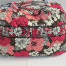Vera Bradley Weekender Mocha Rouge - overnight carry-on Retired