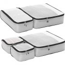 eBags Ultralight Packing Cubes - Grey gray titanium Super Packer 5pc Set travel organizers