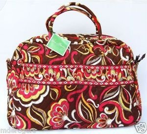 Vera Bradley Weekender Puccini - overnight carry-on satchel Retired NWT