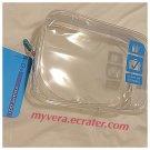 Flight 001 Clear TSA Approved Quart 3-1-1 Case BLUE  liquid travel bag airline security check