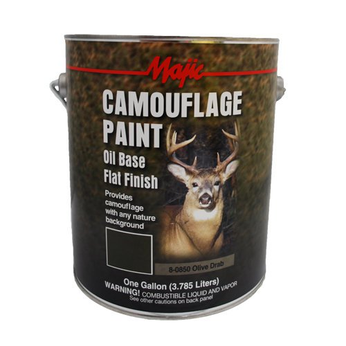 1 Gal Gallon Can Paint Camo Camouflage Od Green Olive Drab