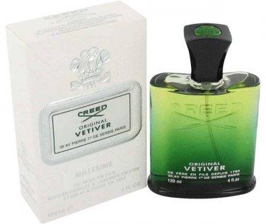 Original Vetiver Cologne by Creed, 4 oz Millesime Spray