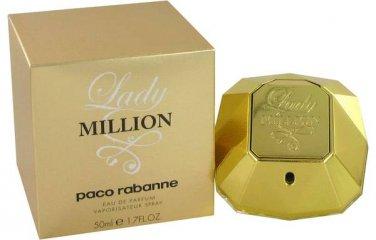 Lady Million Perfume by Paco Rabanne 1.7oz Perfume Spray