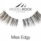 Soft Natural False Eyelashes -Miss Edgy-  for small eyes