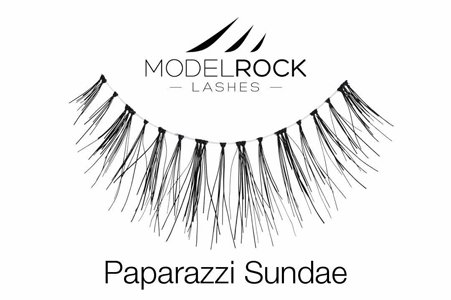 Quality Human Hair Wedding Lashes Natural Eye Makeup - Paparazzi Sundae