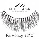 Model Rock False Eyelashes No. 210 Natural Eye Makeup