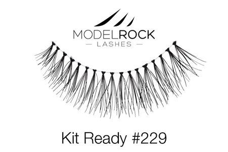 Quality Handmade Eyelashes Model Rock Lashes # 229