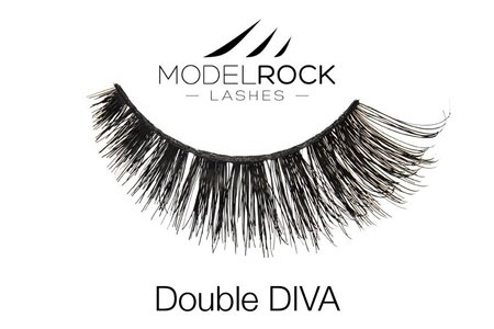 False Eyelashes - Double Diva- Glamour Eyemakeup