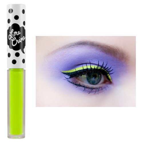 Lime Crime Yellow Eyeliner - Citreuse Party Eye Makeup