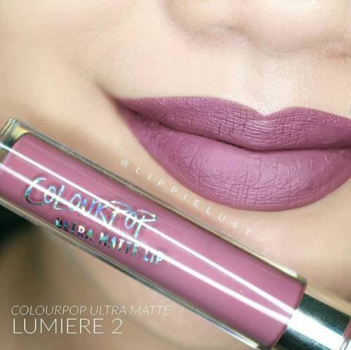 Matte Liquid Lipsticks Colourpop Ultra Lip Lumiere 2